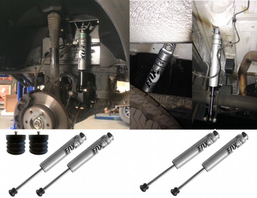 Stage 1 Van Compass Suspension Package - Sprinter 4X4 (2007-2018) MWB, LWB, 3.5T